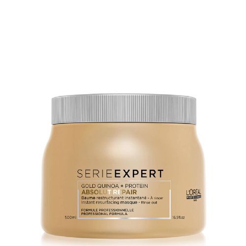 Loreal Serie Expert  Mascarilla Instantanea Gold Quinoa Absolut Repair  500 ml